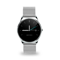 100% Original wrist smart U15 Bluetooth Classic Health Metal Smartwatch Heart Rate Monitor for Android ISO Phone without Camera