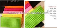 new hot design Silicone Women Purse/Coin Wallet/Cosmetics & Makeup Pouch /Cellphone Case fashion bag 2014