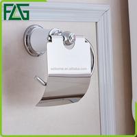 FLG free standing toilet paper holder brass