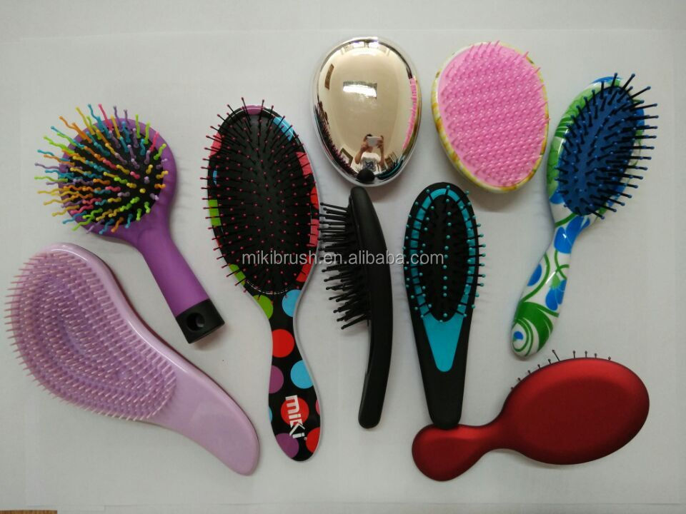 High quality comfortable grip hair brush