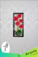 wholesale carnation artificial flower for office decoration