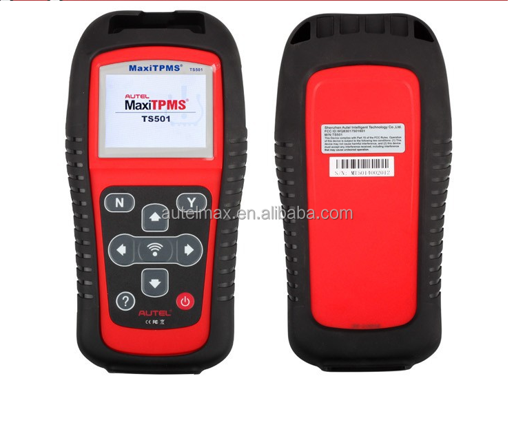 Best Price Original AUTEL MaxiTPMS TS501 With OBD2 Adapters TPMS Diagnostic & Service Tool