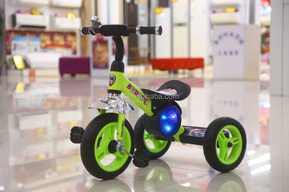 New arrival of lovely style baby tricycle with colorful EVA/AIR tire!