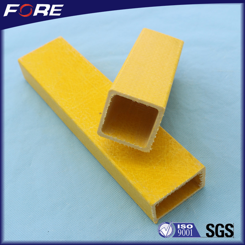 Customized Types Fiberglass Tube Rectangular for Structure