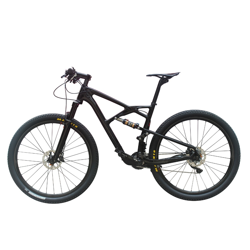 29er full suspension frame& fork complete carbon mountain <strong>bike</strong> carbon full suspension <strong>bike</strong>