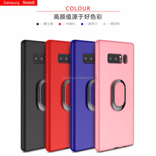 Mobile Phone Accessories, Newest Design Cover Case Magnet Ring Cell Phone Case For Samsung note 8