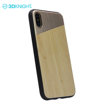 Mixed bamboo and alloy the latest for iphone covers x cute cell phone cases