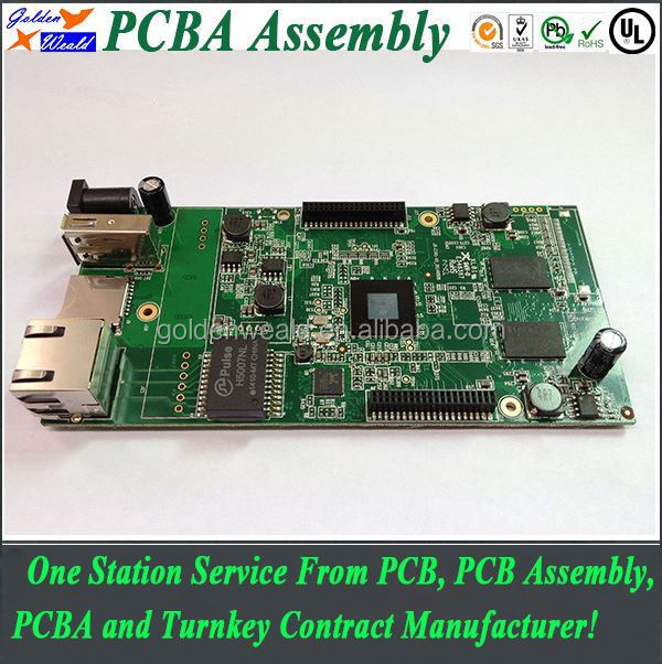 china oem cricuit board gps pcb with module and bga assembly manufacturer pcba prototyping