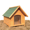 Luxury Wooden Pet House Dog Kennel Hot Sell DFD009