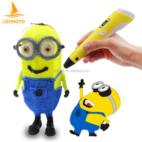 Exclusive magic 3D Dimensional painting pen with free filament