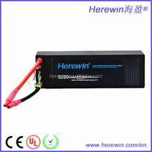 Factory Wholesales Price Lipo Battery 3S LION 11.1V 5200MAH 40C rc car lipo battery pack
