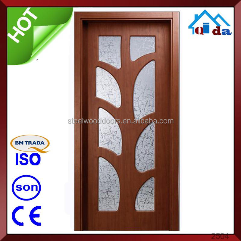 Models Of House wood pvc hotel room door panel