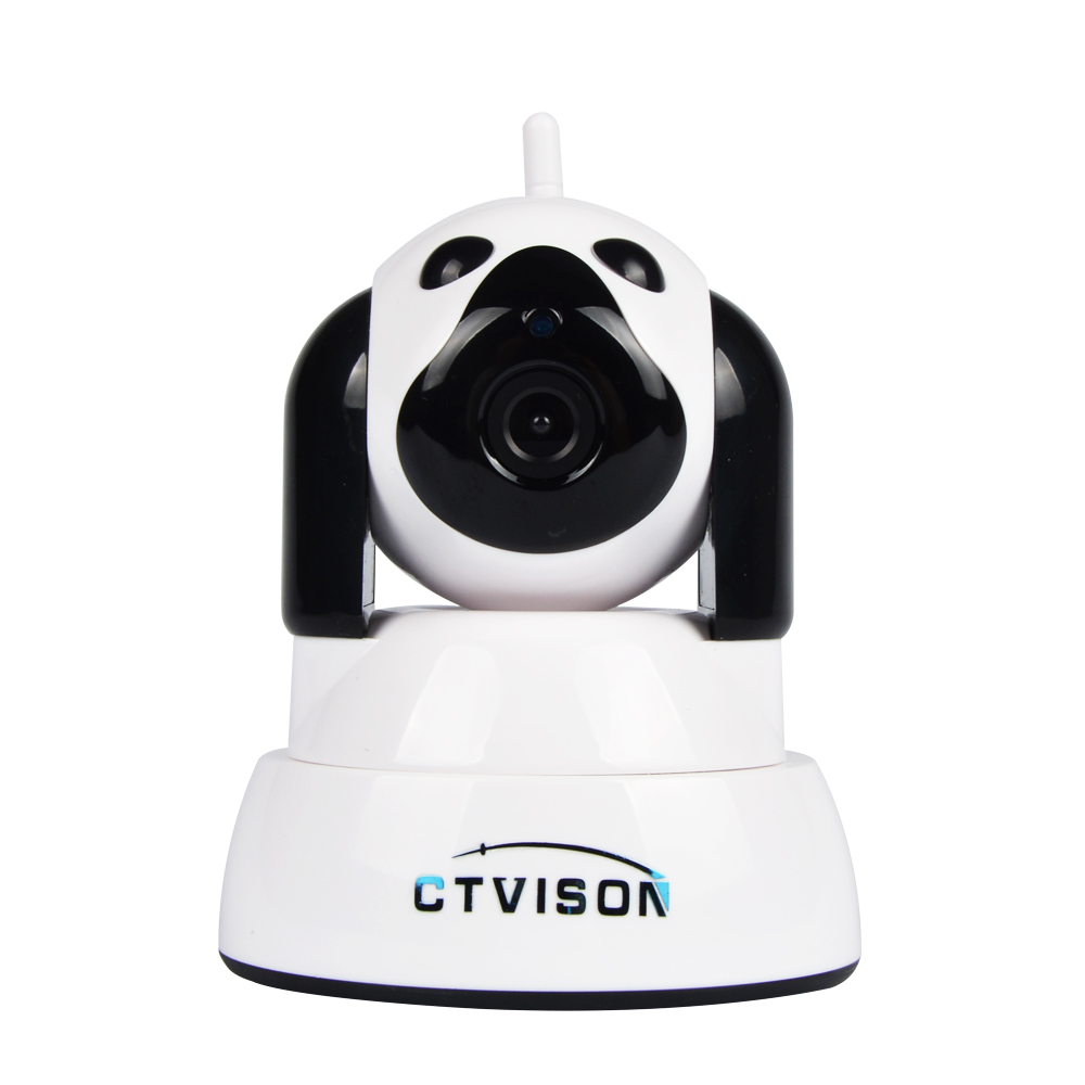 Wireless Surveillance Home Monitoring, Two-Way Audio and Night Vision Pan/Tilt factory price qr code scan ip camera p2p