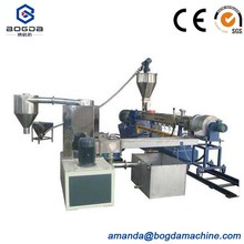 PE PET ABS Caco3 Master batch Pelletizing Recycling Machine