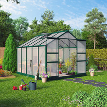 small greenhouse for vegetables with high snow load and wind resistance