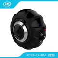 Unique dual lens mini camcorder with 7G fisheye lens VR panoramic camera