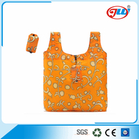 new product reusable foldable shopping bag with logo
