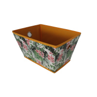 Custom decorative folding cardboard storage boxes wholesale