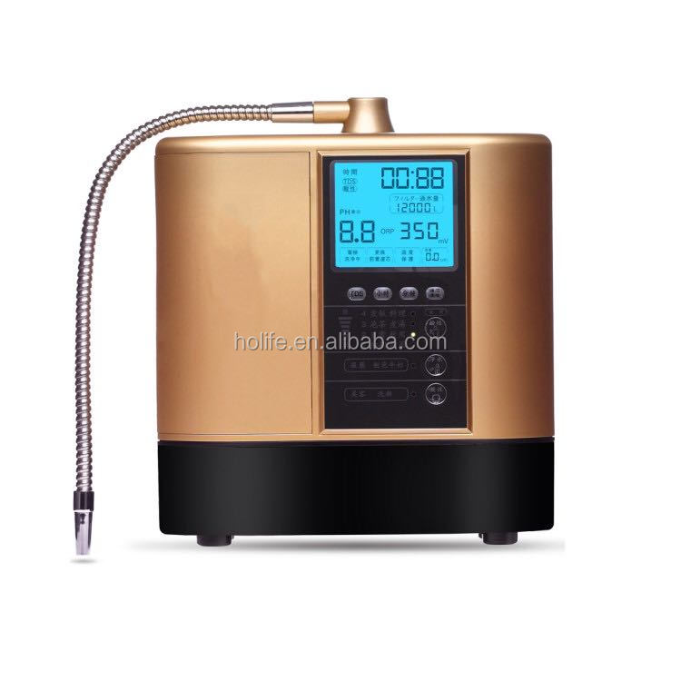 Alkaline water ionizer. Balance body pH. Alkaline water dispenser.