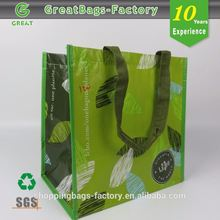Reusable Lead-free Customized 6 bottles wine carrier bag