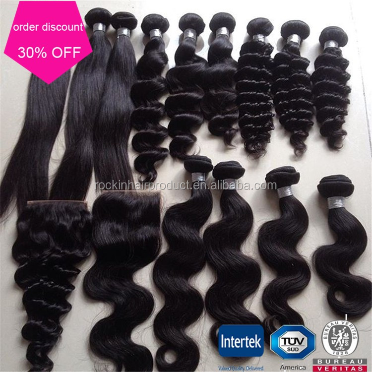 cheap hair weave wholesale loose 100% raw unprocessed virgin cambodian hair