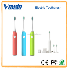 Vondo Portable Electric Toothbrush With Three Interchangeable Brush Heads