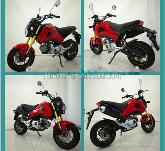 2015 MSX125 125CC MINI MOTORCYCLE FROTN DISC BRAKE SMALL MONKEY dirt bike