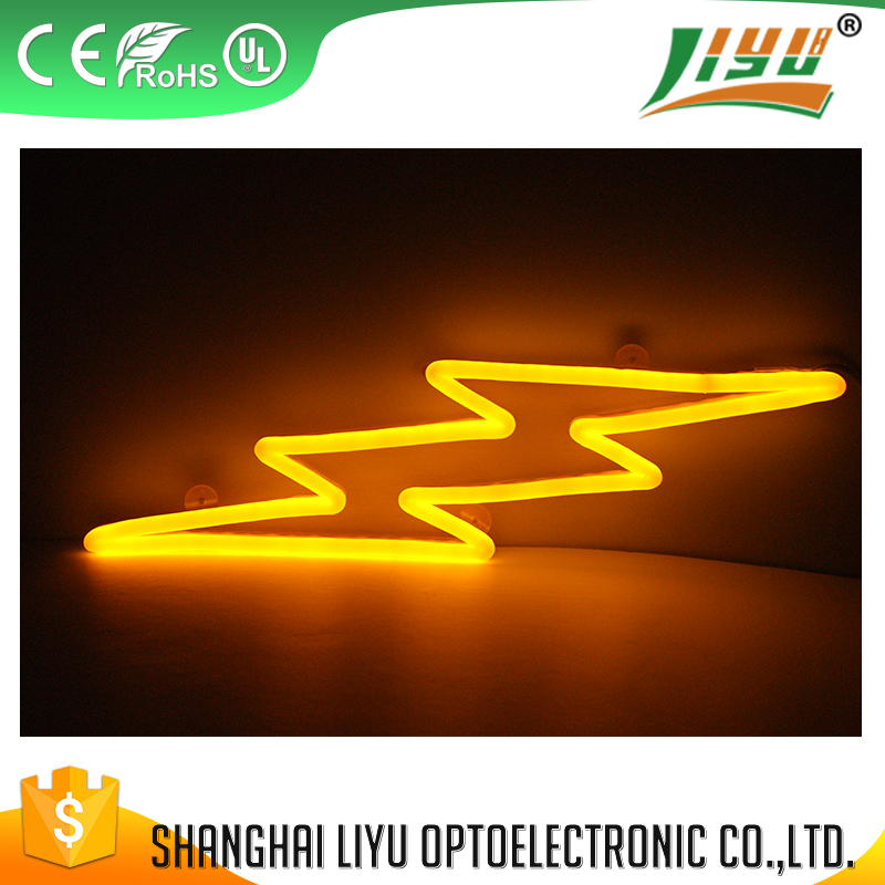 CE logo new design led neon sign