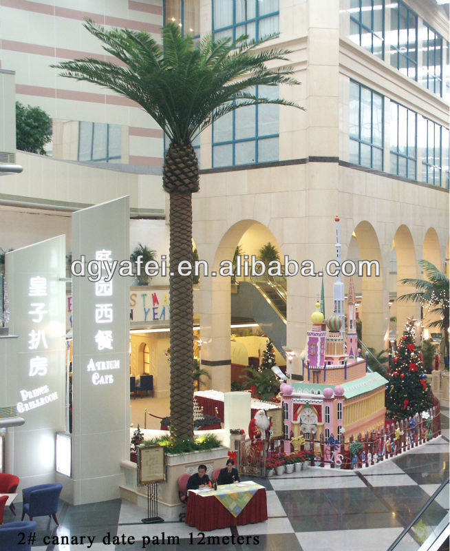 on sale YF2014 hot sale high quality artificial palm tree for decoration
