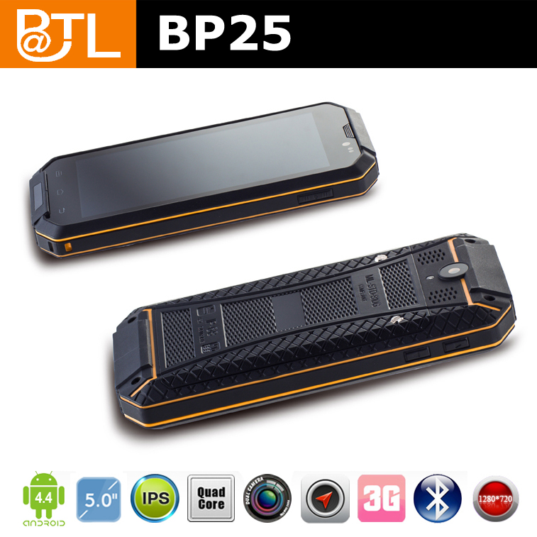 android 1.3ghz 1+8GB/2+8MP AGPS 3G BATL BP25 rough and tough android phone