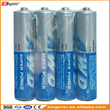 1.5v R03P Um-4 Aaa Carbon Dry Cell Battery for torch flashlight