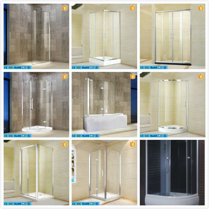 High quality sliding glass used shower doors