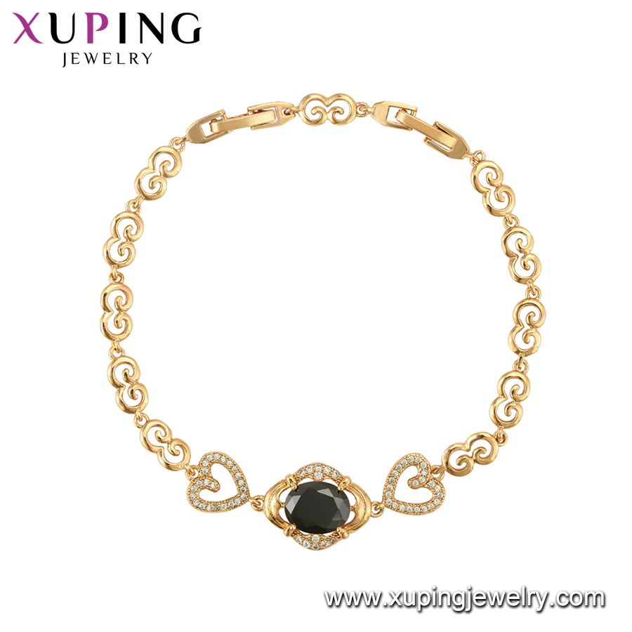 75025 Xuping Jewelry Women Elegant 18K Gold Color Lead and Nickel Free  Bracelet