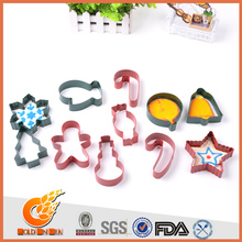 More colorful stainless steel cookie cutter