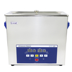 6L 180w stainless steel ultrasonic cleaner with LED window show  for glass, PCB and jewelry