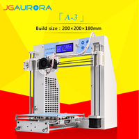 2016 jgaurora 3d printing machine Digital Printer Type 3d Printer for Personal Printing Plastic Moulding