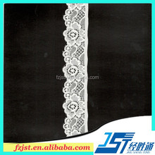 Wholesale african bridal decorative trim fabric bridal lace border