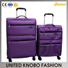 Ultra light 1200D EVA trolley case soft case travel luggage set