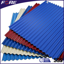 Fireproof Corrugated FRP fiberglass skylight roof panel for factories