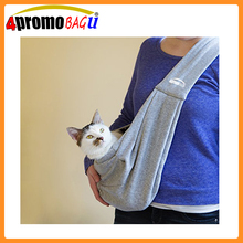 Hands-free Adjustable Pet Sling Carrier Bag