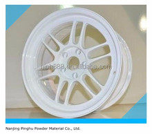 White Powder Paint for Automotive Wheel Hub