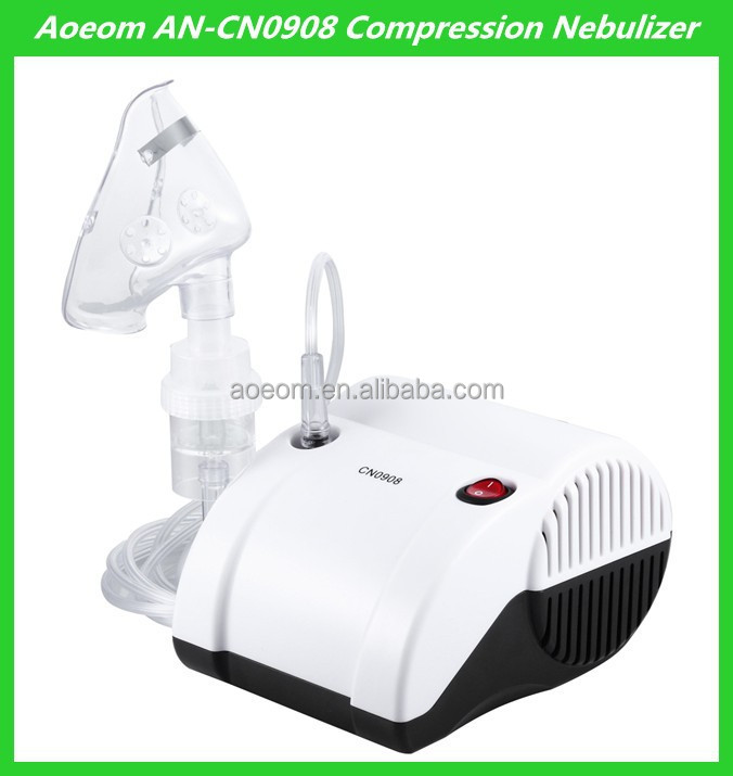 Aoeom 2015 new best quality inhalator piston compressor nebulizer
