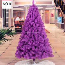Decorative LED Christmas Tree artificial plasic christmas tree stand PE mixed PVC holiday tree outdoor decor GVCH6502