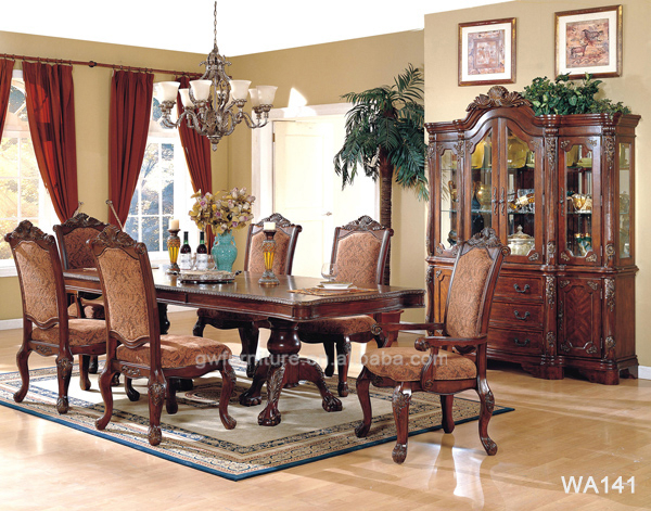 middle east and america style antique style solid wood dining
