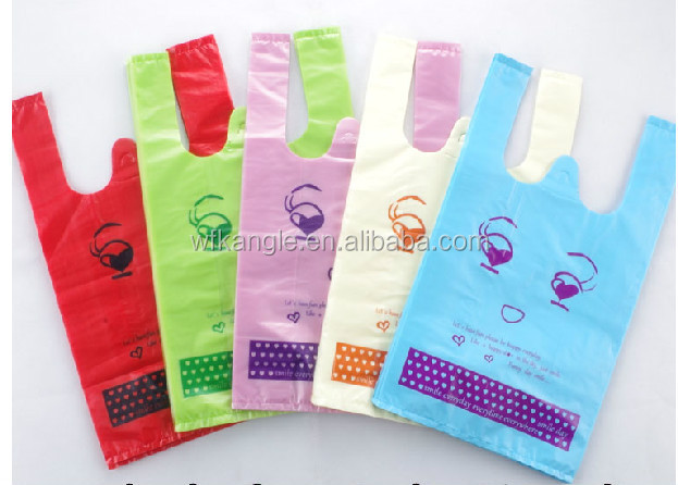 retail plastic shopping bag