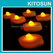 Replaceable CR2032 Battery Flameless LED Candle For Church
