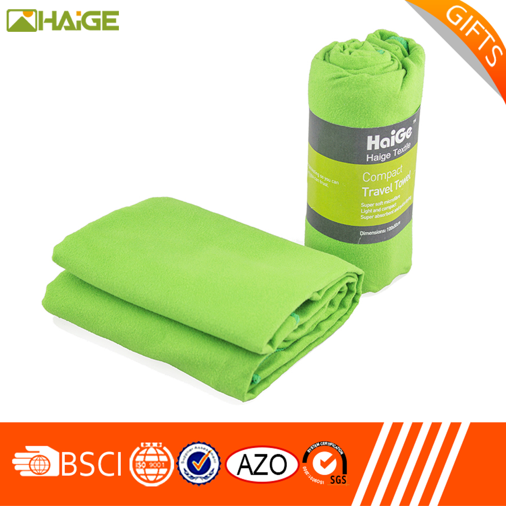 Wholesale Quick Dry Towel China Supplier , Absorbent Microfiber Sports Towel with Logo