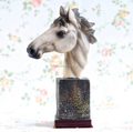 Custom Make Horse Small Sculpture Horses Head Resin Figure Factory Maker