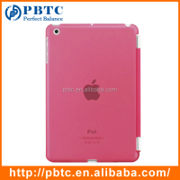 Hot Sale Cute Hard Plastic Pink Smart Case For iPad Mini