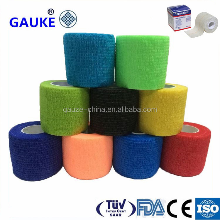 Gauze Roll Tubular Colorful Bandage